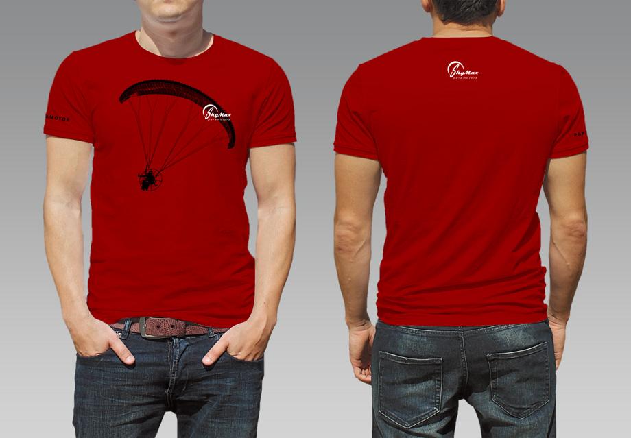 SkyMax Paramotor t-shirt
